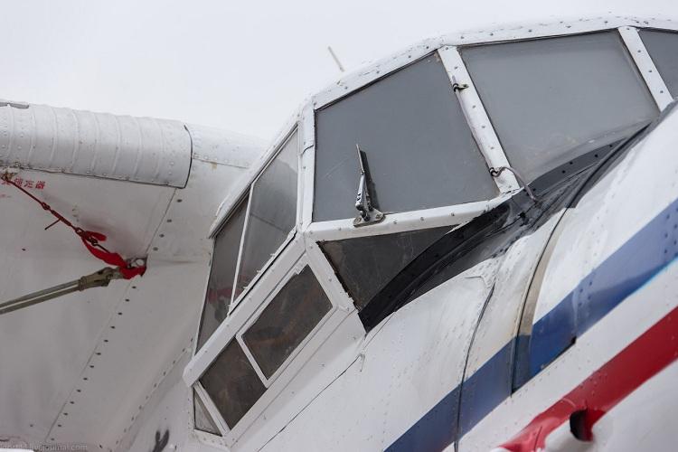 ВСеверном районе экстренно приземлился самолет АН-2