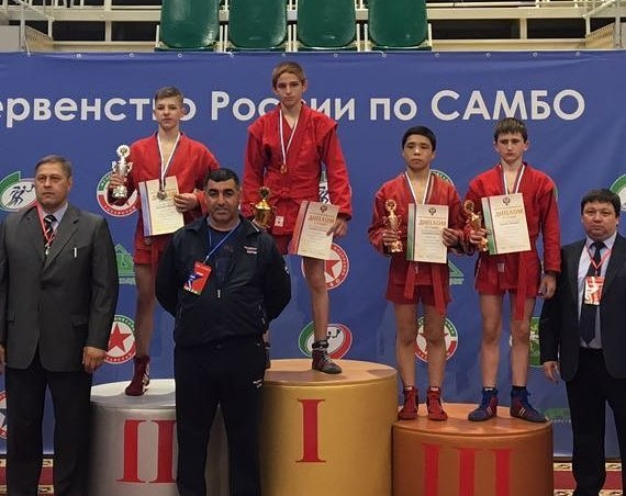 Лаврентьев-младший стал победителем главенства  РФ  посамбо