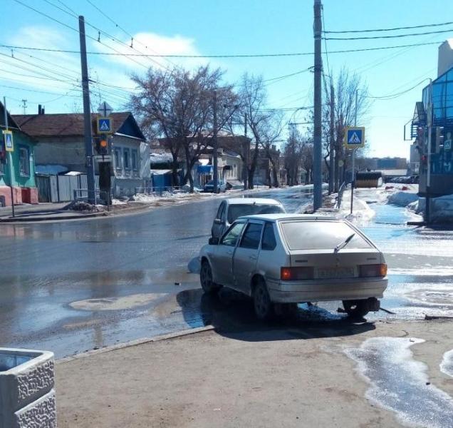ДТП вцентре Оренбурга: пострадал ребенок