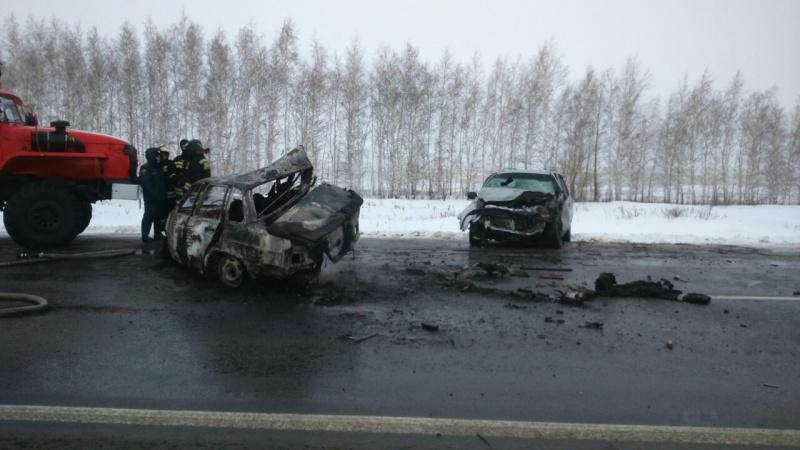 Трое погибших вДТП натрассе «Оренбург— Самара»