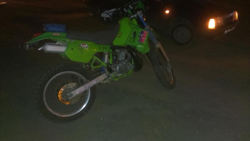 Шофёр мотоцикла получил травмы вДТП сKawasaki иKTM вОренбуржье