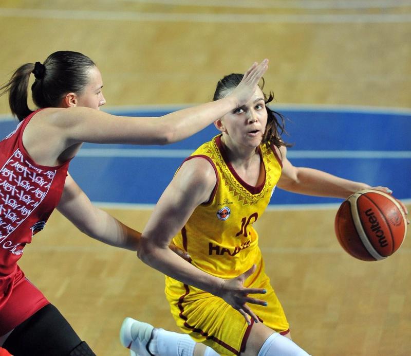 Баскетбольный клуб УГМК вышел вполуфинал чемпионата Российской Федерации