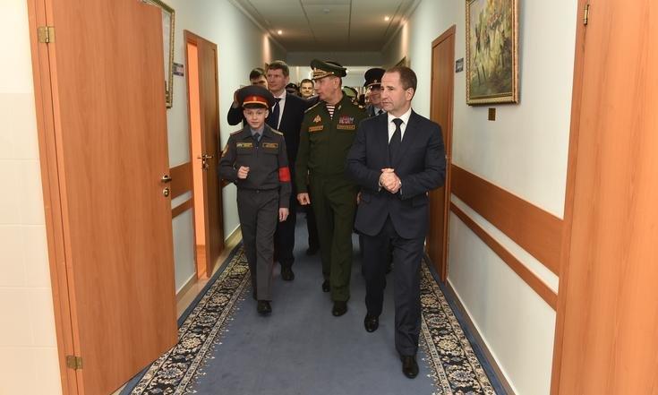 Росгвардия возьмет шефство над пермскими кадетами