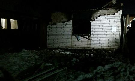 Первопричиной пожара жилого дома вСорочинске стал взрыв бытового газа