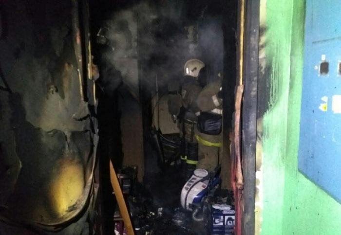 ВОренбурге напожаре пострадали 3 человека, двое вкрайне тяжелом состоянии