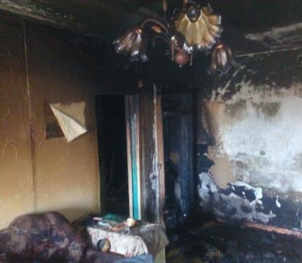 Пожар под Орском: 10 спасено, один умер