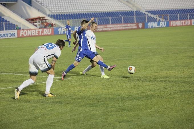 Астраханский «Волгарь» вышел напятое место втурнирной таблице ФНЛ