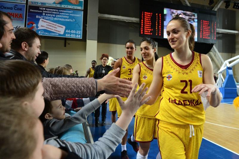 УГМК, «Надежда», курское и столичное «Динамо»— вполуфинале женской Суперлиги